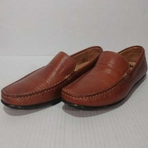 1901 Leather Bermuda Driving Loafers Shoes Sz 7M